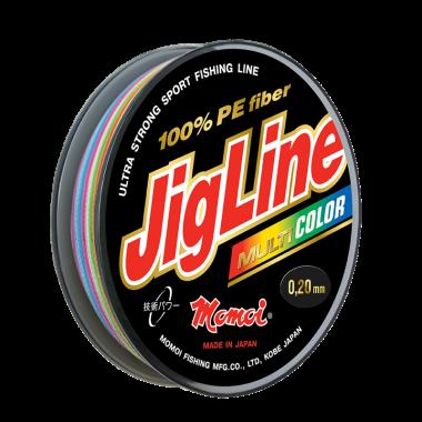 Плетеная леска JigLine Multicolor