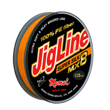Плетеная леска JigLine Super Silk 10 м