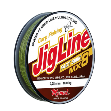 Плетеная леска JigLine Fast Sink