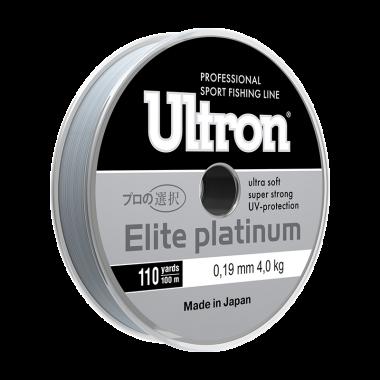 Монофильная лескаUltron Elite Platinum