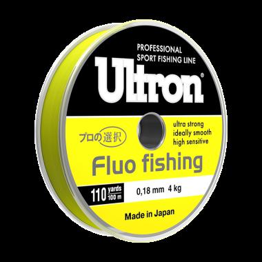 Монофильная лескаUltron Fluo Fishing