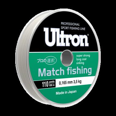 Монофильная лескаUltron Match Fishing