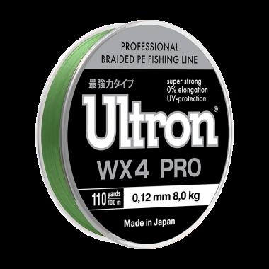 Плетеная леска Ultron WX 4 PRO