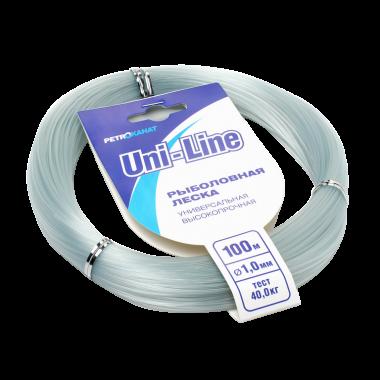 Монофильная леска UniLine в мотках 100 м