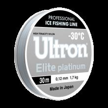 Зимняя леска Ultron Elite Platinum