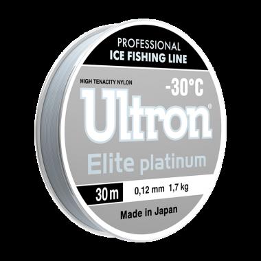 Зимняя леска Elite Platinum