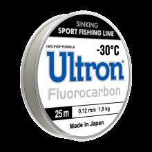 Зимняя леска Ultron Fluorocarbon