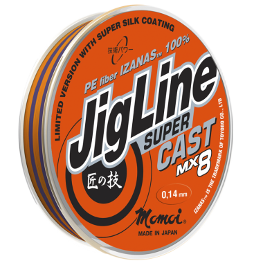 Плетеная леска JigLine Super Cast