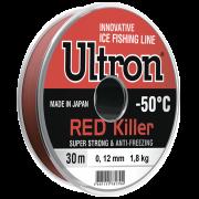 Зимняя леска Ultron Red Killer