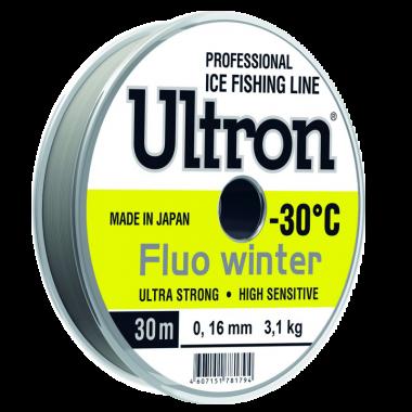 Зимняя леска Ultron Fluo Winter